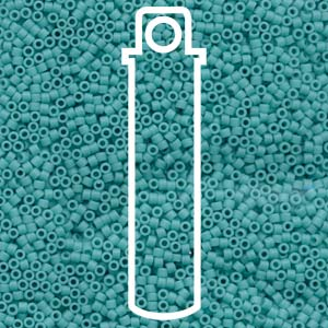 DB759-TB - Delica Beads Matt Opaque Turquois | 7.2g Tube