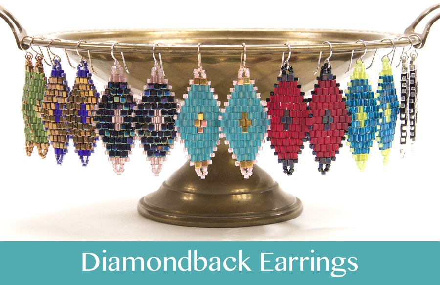 #PDF-551 - Diamondback Earrings