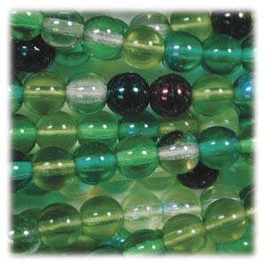DK04MIX03 - Druk Round Mix 4mm Evergreen | Pkg 600