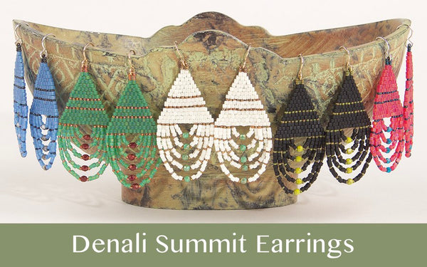 #PDF-490 - Denali Summit Earrings