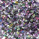 DU0500030-95500 - Czech Glass SuperDuo Beads, Crystal Magic Violet-Grey | 25 Grams