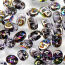 DU0520500-28101 - Czech Glass SuperDuo Beads, Tanzanite Vitrail | 25 Grams