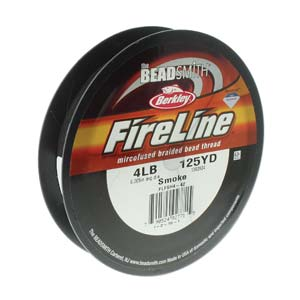 FL04SG125 - 4 Lb Fireline Smoke Grey .005 In/.12mm Dia 125 Yrd | Pkg 1