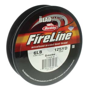 FL06SG125 - 6 Lb Fireline Smoke Grey .006 In/.15mm Dia 125 Yrd | Pkg 1