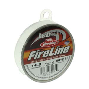FL14CR50 - 14 Lb Fireline Crystal .009 In/.22mm Dia 50 Yrd | Pkg 1