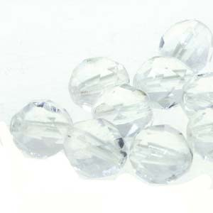FPR040001 - 4mm Round Crystal, 76 Beads | 2 Strands