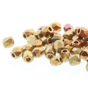 FPR0200030-01610 - Fire Pol True 2mm Gold Rainbow | Pkg 600