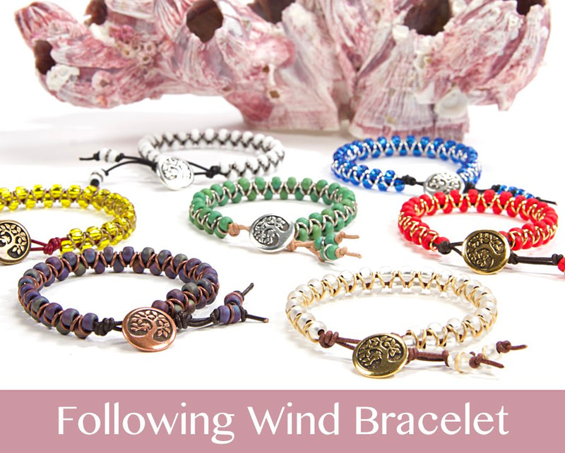#PDF-538 - Following Wind Bracelet