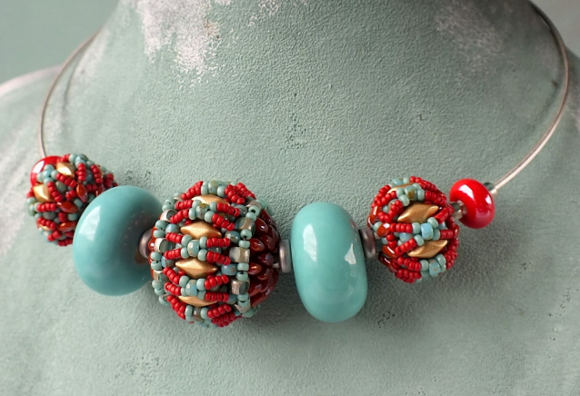 #PDF-234 - Fiona Beaded Beads Necklace Project