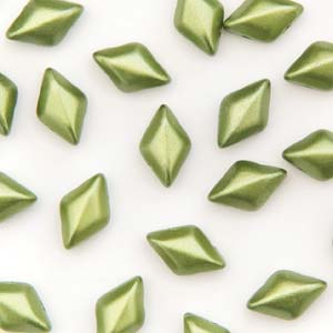 GD8525034 - 8x5mm GemDuos, Pastel Olivine | 25 Grams