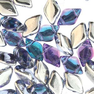 GD8530010-26536 - 8x5mm GemDuos, Backlit Violet Ice | 25 Grams
