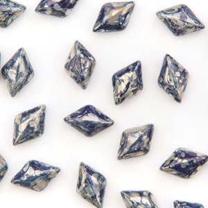GD8533400-43400 - 8X5mm Gemduos, Navy Picasso | 25 Grams