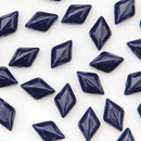 GD8533400 - 8X5mm Gemduos, Navy Opaque | 25 Grams