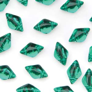 GD8550720-27002 - 8X5mm Gemduos, Backlit Teal | 25 Grams