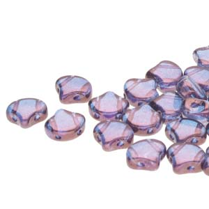 GNK8700030-15726 - Ginko 7.5mm Luster Transparent Amethyst | 25 Grams
