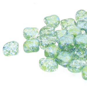GNK8700030-24404 - Ginko 7.5mm Confetti Splash Blue Green | 25 Grams