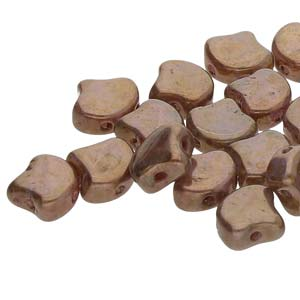 GNK8701000-15695 - Ginko 7.5mm White Opal Senegal Brown- | 25 Grams