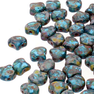 GNK8760020-86805 - Ginko 7.5mm Aqua Travertine | 25 Grams