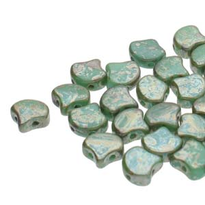 GNK8763130-43500 - Ginko 7.5mm Opaque Turquoise Rembrandt | 25 Grams