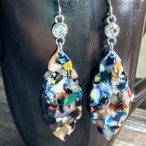 #PDF-505 - Confetti Earrings by Susie Henderson