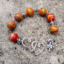 #PDF-531 - Colorful Heart Bracelet