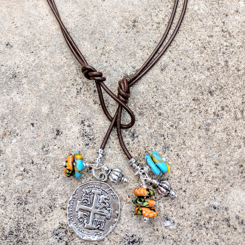 #PDF-534 - Lariat By The Sea Necklace