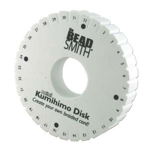 KD608 - Thick(20Mm)4.25In Kumihimo Disk 35mm Hole