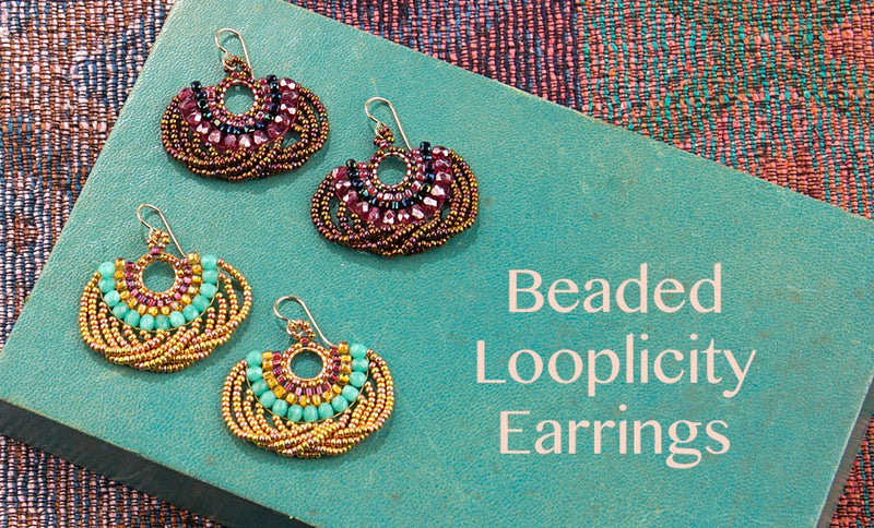 #PDF-500 - Looplicity Brick Stitch Earrings