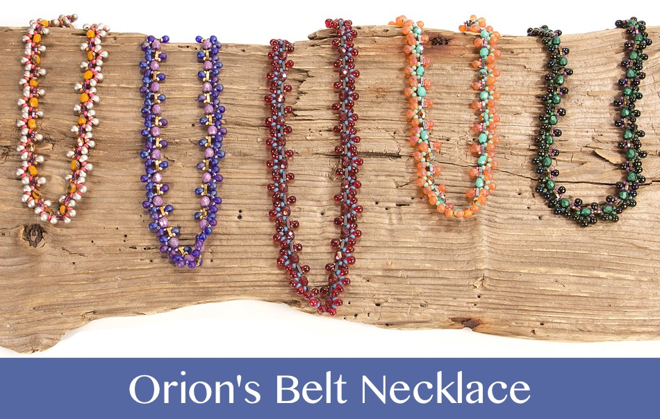 #PDF-528 - Orion's Belt Necklace