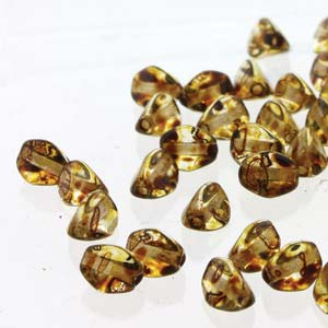 PNC05-00030-86800 - Pinch Bead 5mm Crystal Picasso 50 Beads/Strand | 2 Strands