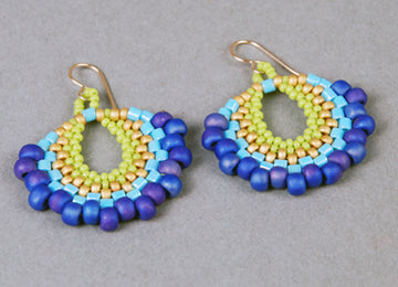 #PDF-263 - Peyote Fan Earrings Project