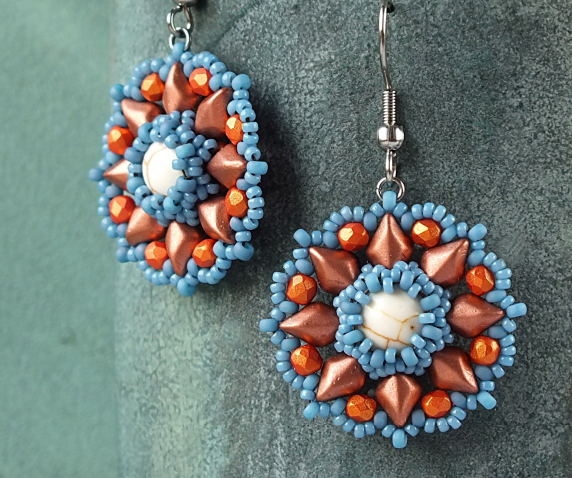 #PDF-232 - Primrose Earrings Project