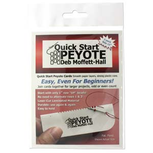 QSP2 - Quick Start Peyote 15/0 Delica & Seed -3Cd/Pack