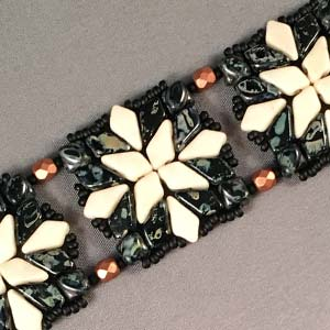 #PDF-349 - Quilted Kite Bracelet Project by Susan Sassoon