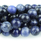 CL-GM-27236 - Sodalite Gemstone Beads, 10mm | Pkg 1 Strand