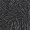 TW2012-401F - Miyuki 2x12mm Twisted Bugle Seed Beads, Matte Black | 25 Grams