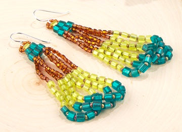 #PDF-491 - Trapeze Earrings