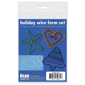 WS10 -  Holiday Wire Form Set | 4 Pc
