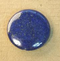GM-1029 - Blue Lapis 30mm Coin Gemstone Pendant | Pkg 1
