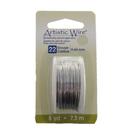 CL-AWD-22-SS-08YD - Artistic Wire Non-Tarnish, 22 Gauge, Stainless Steel |Pkg 8 Yes