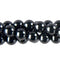"GM-0141 - 8mm Onyx Round Gemstone Bead Strand | 16"" Str"