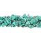 GM-0031 -Howlite Blue Turquoise Chip Gemstone Beads,36 Inches | 1 Strand