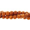 "GM-0131 - 6mm Chocolate Howlite Round Gemstone Bead Strand | 16"" Str"