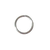 SS/JR32/6 - Sterling Silver Jump Rings, Open, 6mm, 20 Gauge | Pkg 10