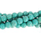 "GM-0101 - 8mm Turquoise Howlite Round Gemstone Beads | 16"" Strand"