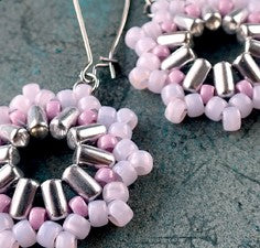 #PDF-110 - Inti Matubo Earrings Pattern by Nela Kábelová