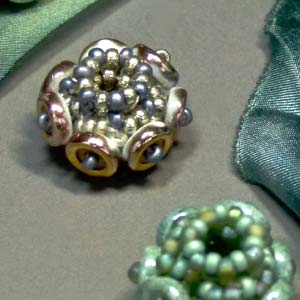 #PDF-201 - Ocular Beaded Beads Project by Phyllis Dintenfass
