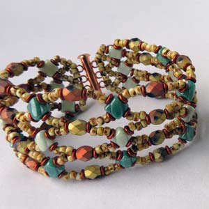 #PDF-335 - Sierra Nevada Bracelet Project by Maria Rypan