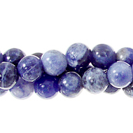 "GM-0122 - 6mm Sodalite Round Gemstone Bead Strand | 16"" Str"