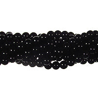 "GM-0068 - 3mm Onyx Round Gemstone Bead Strand | 16"" Str"
